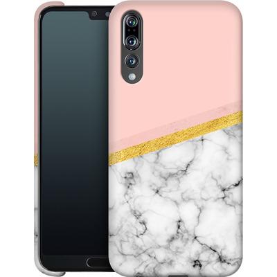 Huawei P20 Pro Smartphone Huelle - Marble Slice von caseable Designs