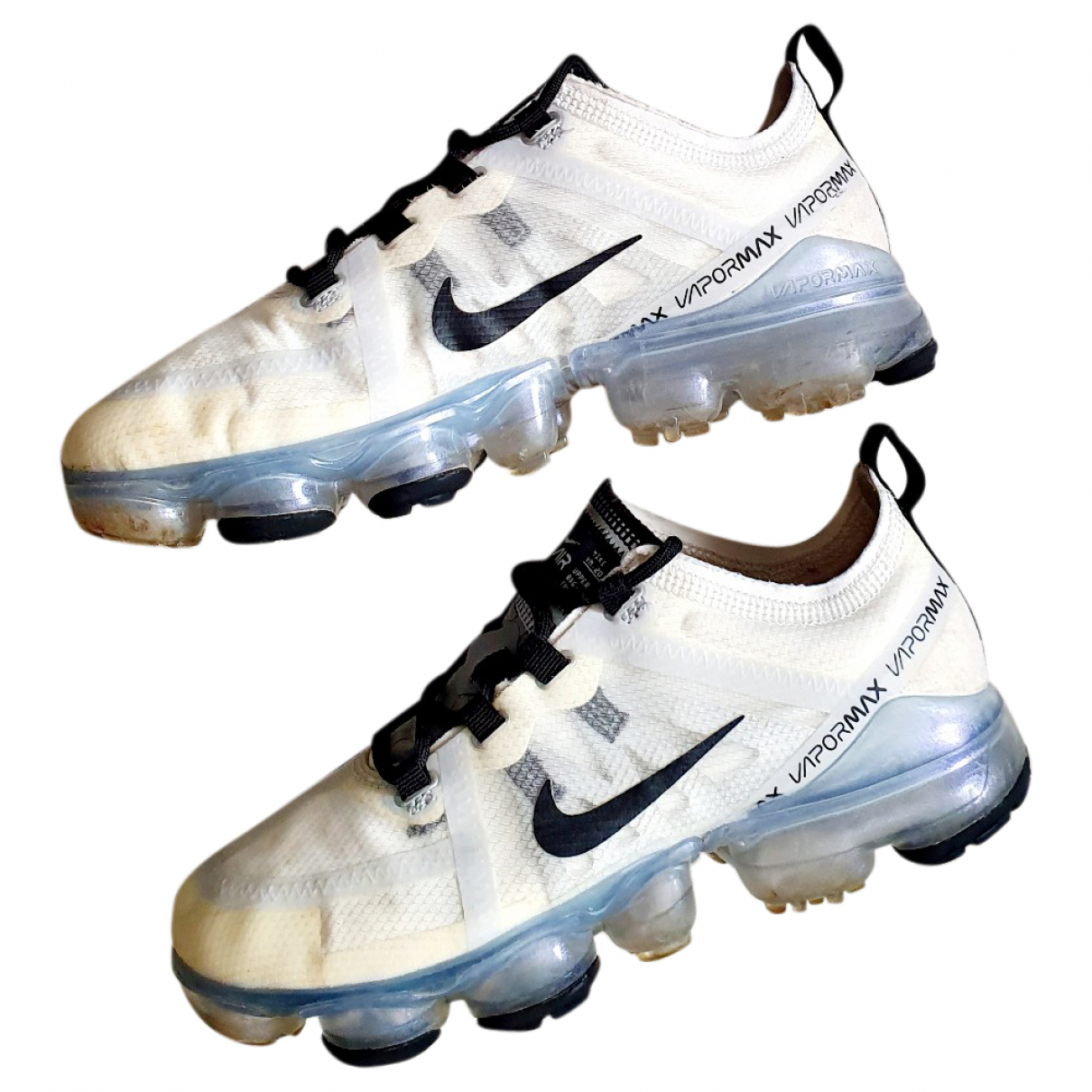 Nike Air VaporMax White Trainers for Kids 36 FR