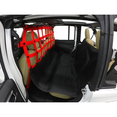 DirtyDog 4x4 Pet Divider with Hammock and Door Protectors (Red) - JL4PH18HRD