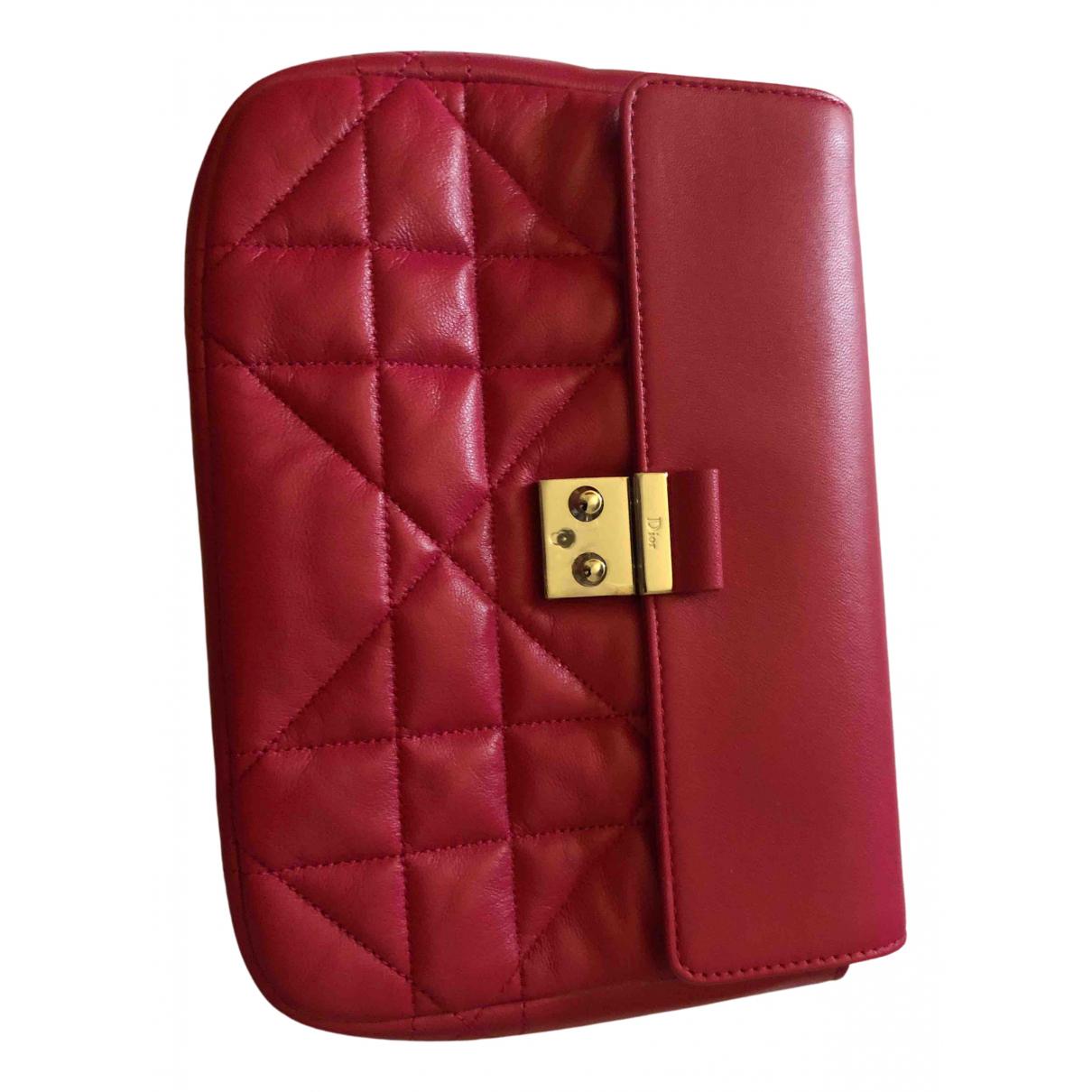 Dior - Sac a main Miss Dior pour femme en cuir - rose
