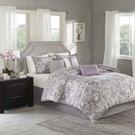 Madison Park Lira 7-pc. Comforter Set, One Size , Purple