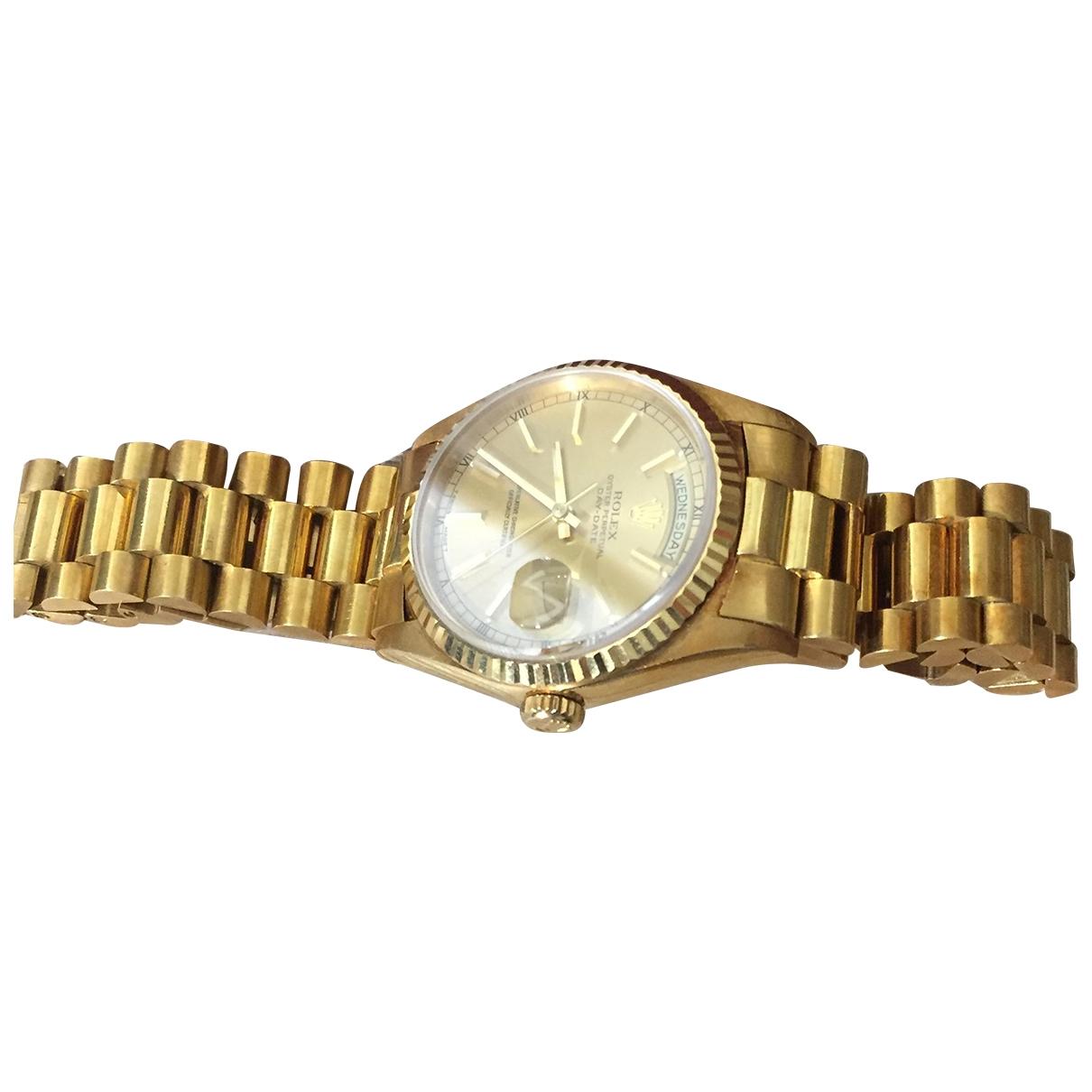 Rolex Day-Date 36mm Uhr in  Gold Gelbgold