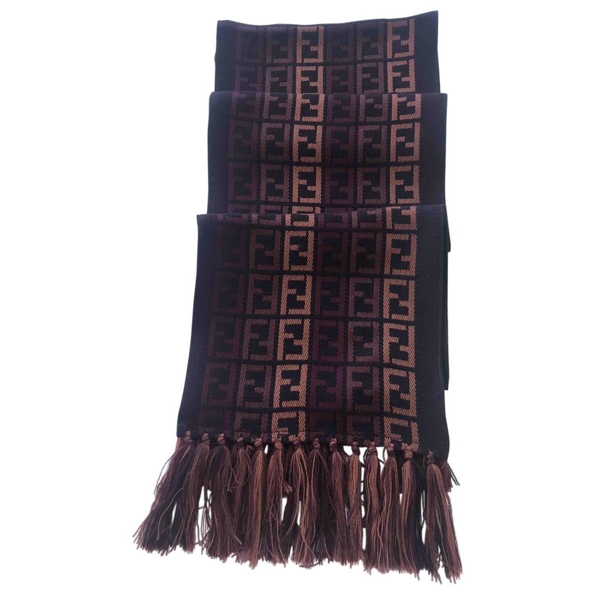 Fendi \N Schal in  Bunt Wolle