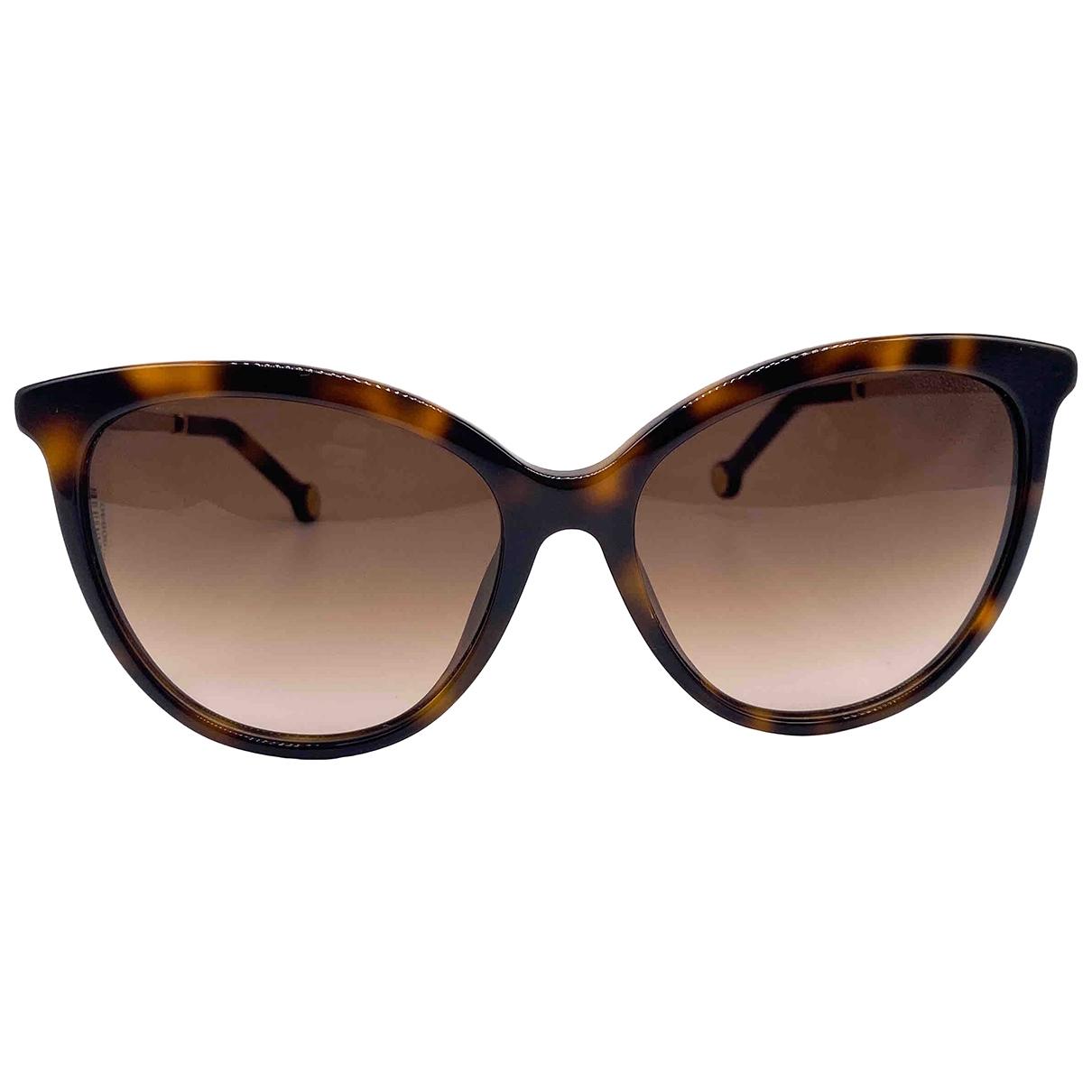 Carolina Herrera \N Brown Sunglasses for Women \N