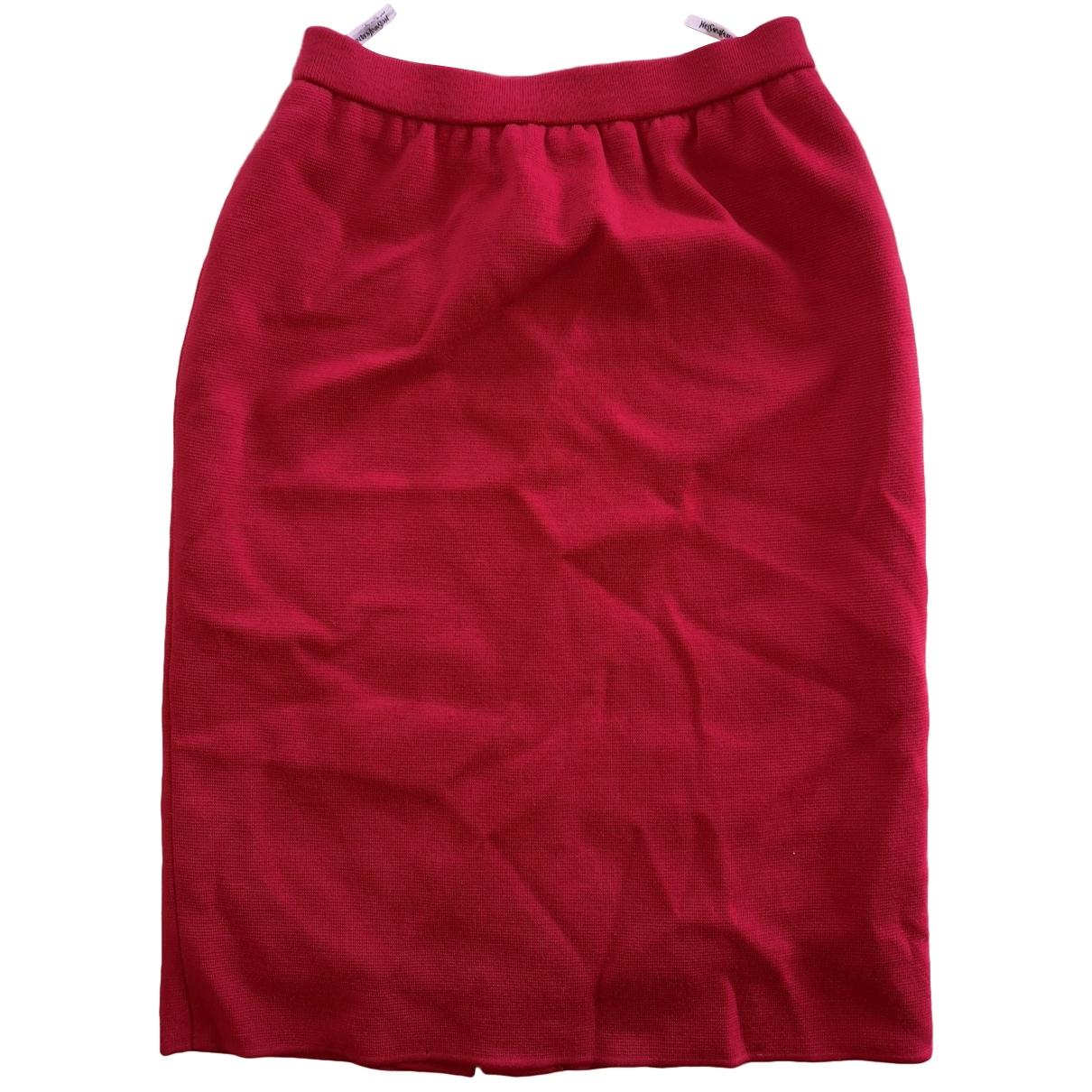 Yves Saint Laurent \N Rocke in  Rot Baumwolle