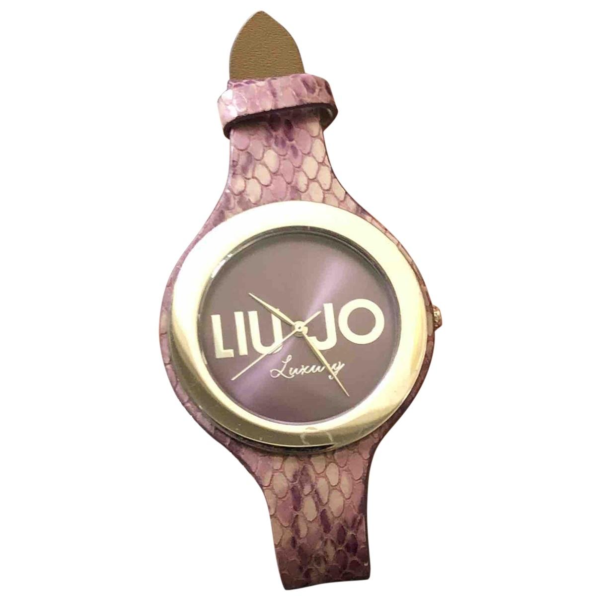 Liu.jo - Montre   pour femme en acier - violet