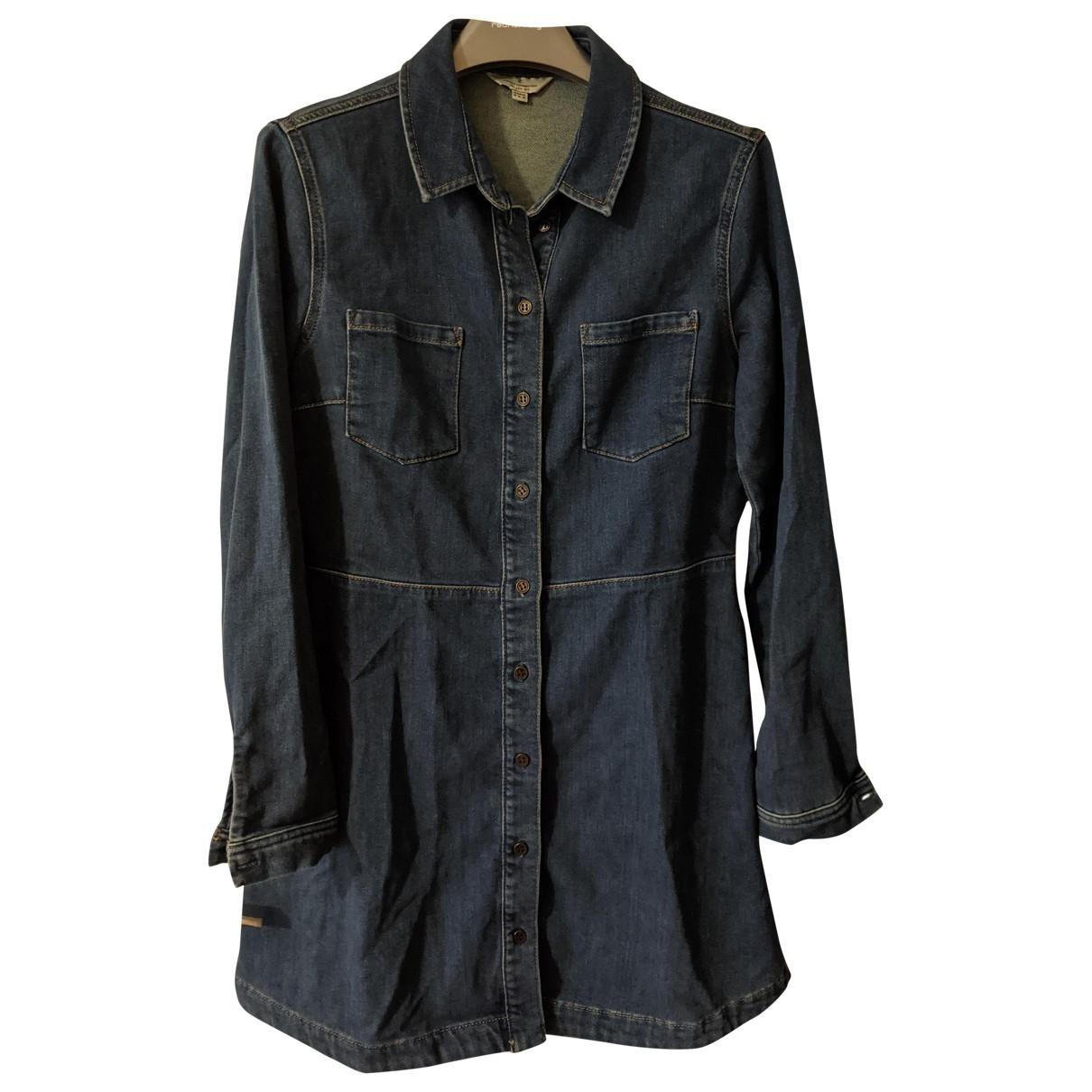 French Connection \N Kleid in  Blau Denim - Jeans