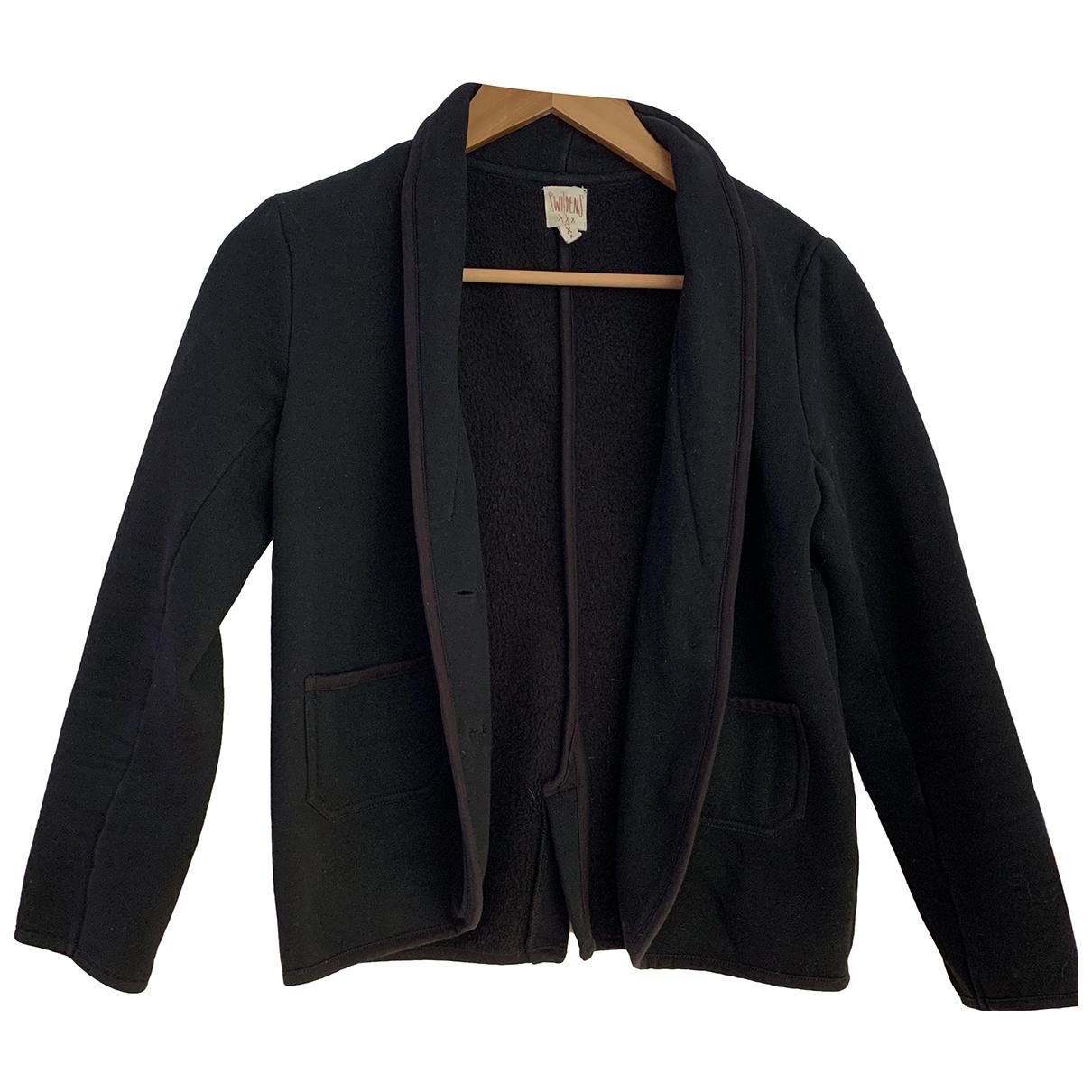 Swildens N Black Cotton jacket for Women 36 FR