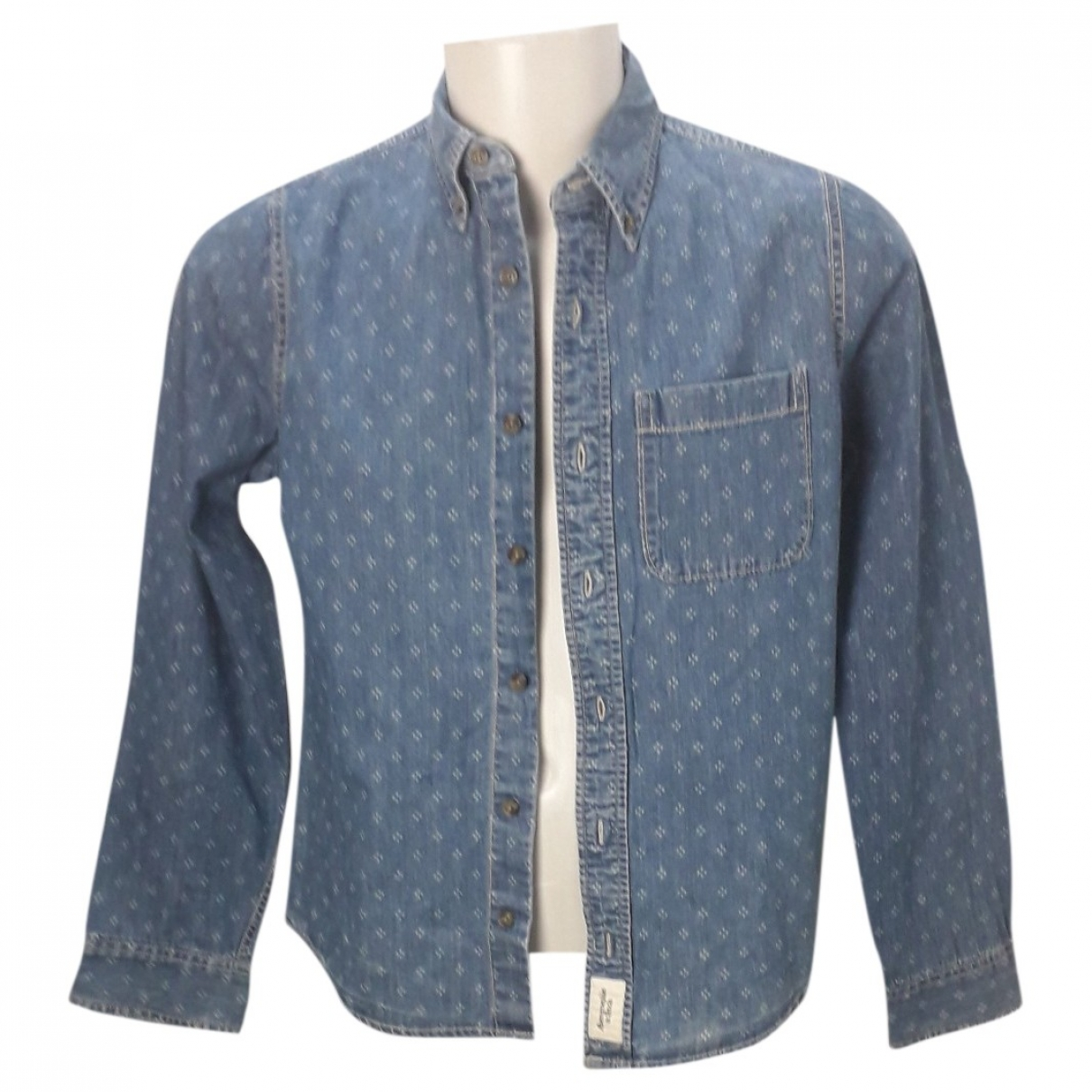 Abercrombie & Fitch \N Cotton Shirts for Men M International