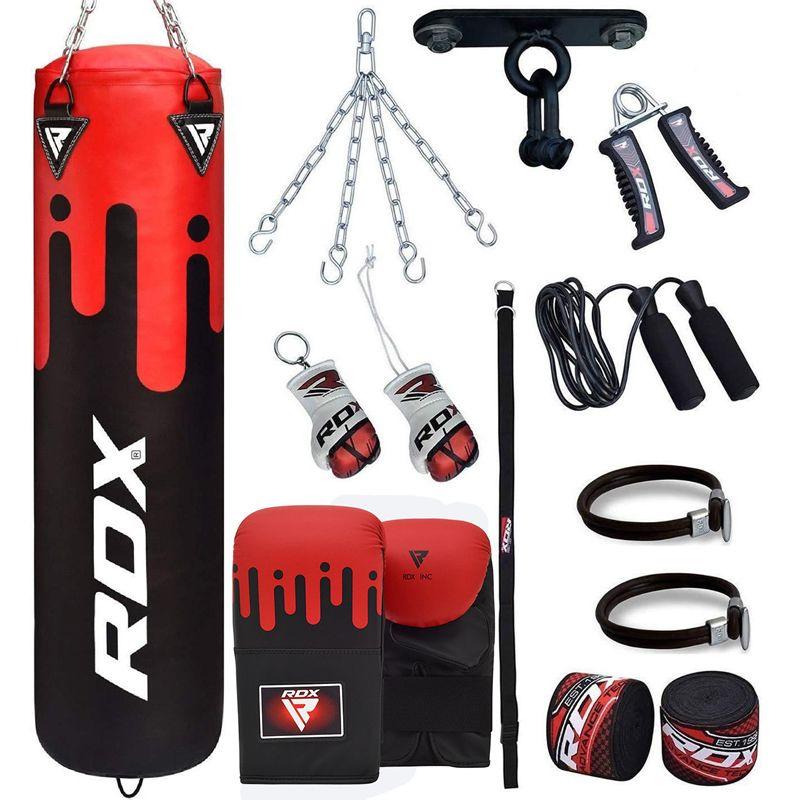 RDX F9 13pc Boxsack mit Sandsackhandschuhe Heim gym Set