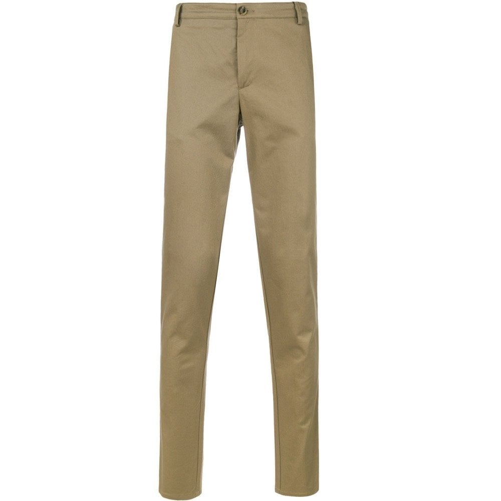 Kenzo Straight Leg Chino Trousers Beige Colour: BEIGE, Size: EXTRA LARGE