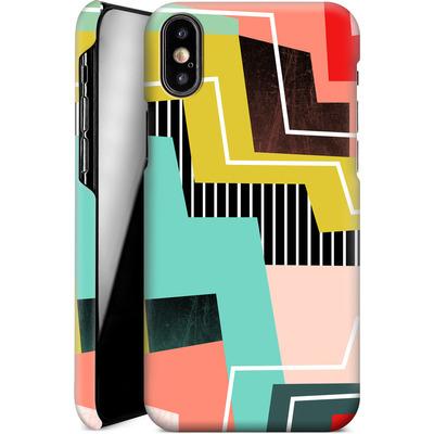 Apple iPhone X Smartphone Huelle - Color Block I von Susana Paz