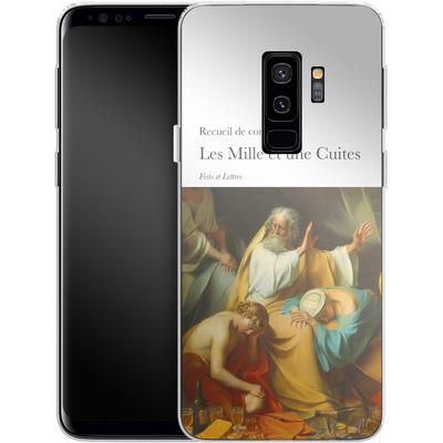 Samsung Galaxy S9 Plus Silikon Handyhuelle - Mille Et Une Cuites von Fists Et Lettres