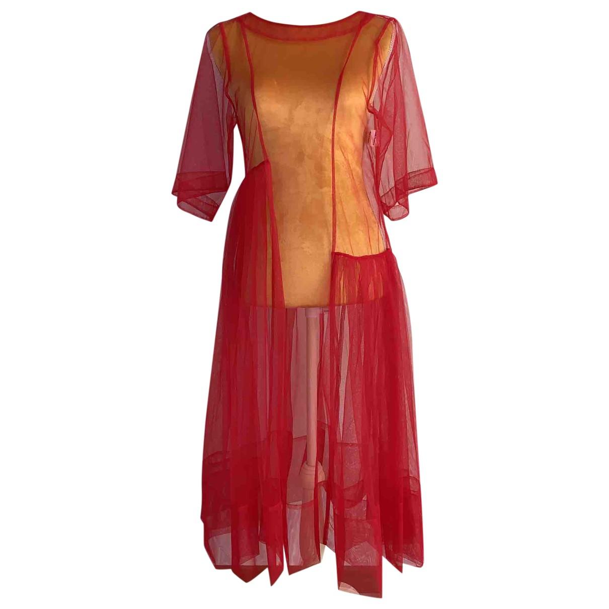 Molly Goddard \N Red dress for Women 8 UK