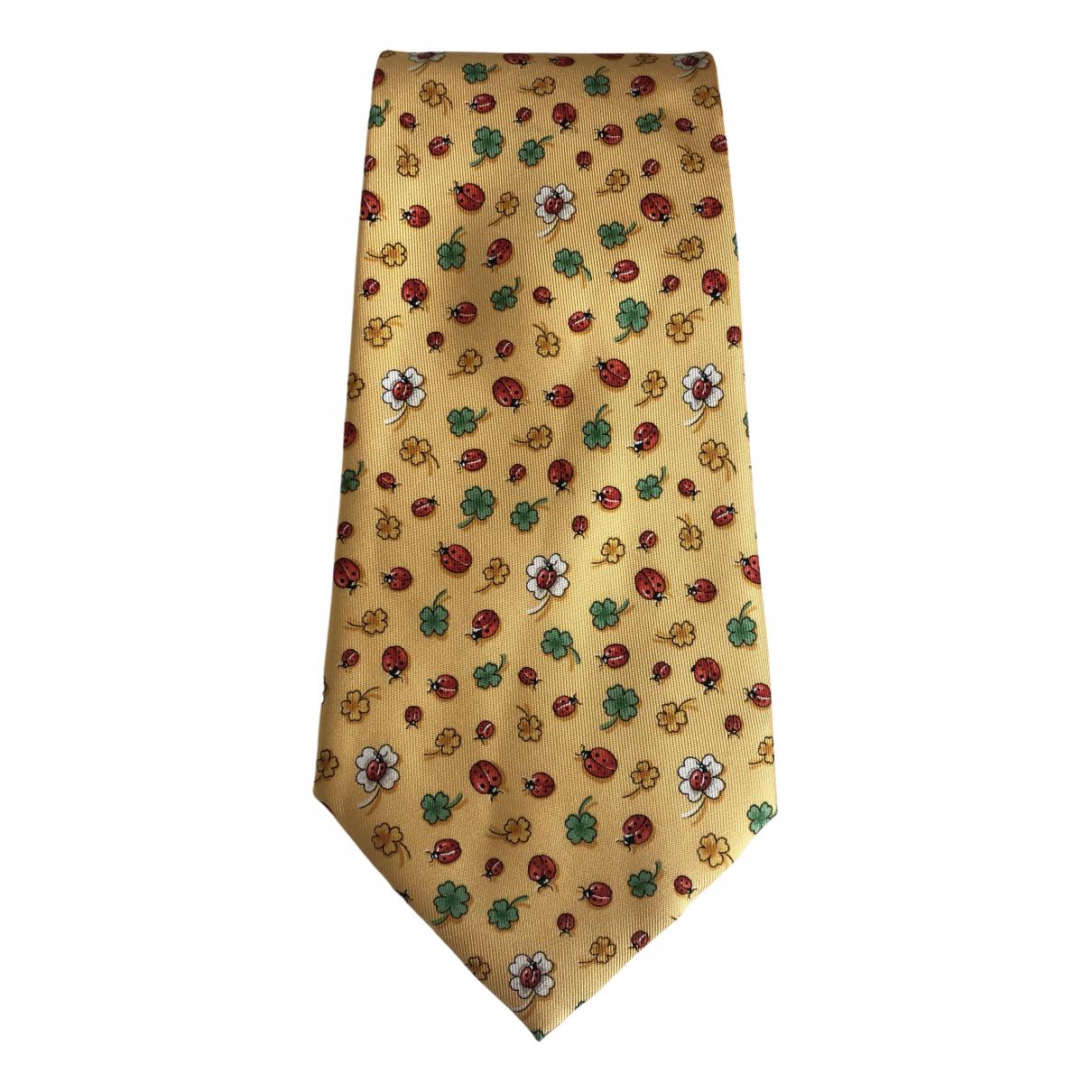 Salvatore Ferragamo \N Multicolour Silk Ties for Men \N