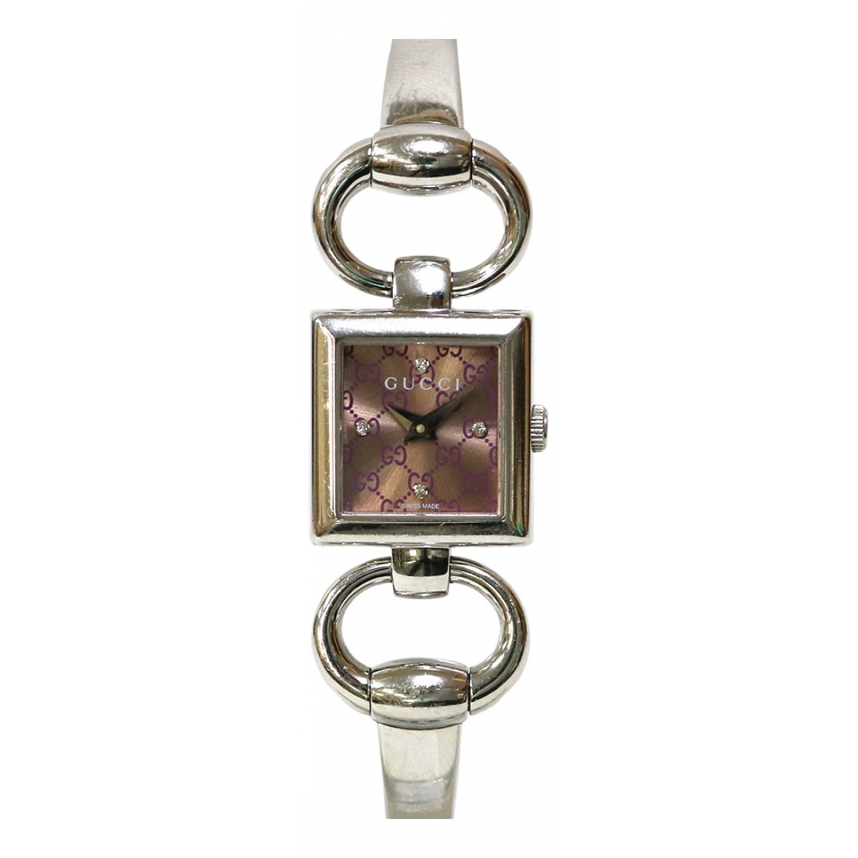 Gucci Signora White Steel watch for Women \N