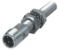 Turck M12 x 1 Inductive Sensor - Barrel, NO Output, 4 mm Detection, IP67, M12 - 4 Pin Terminal