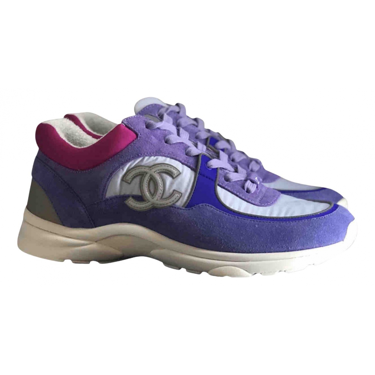 Chanel \N Multicolour Leather Trainers for Women 5 UK
