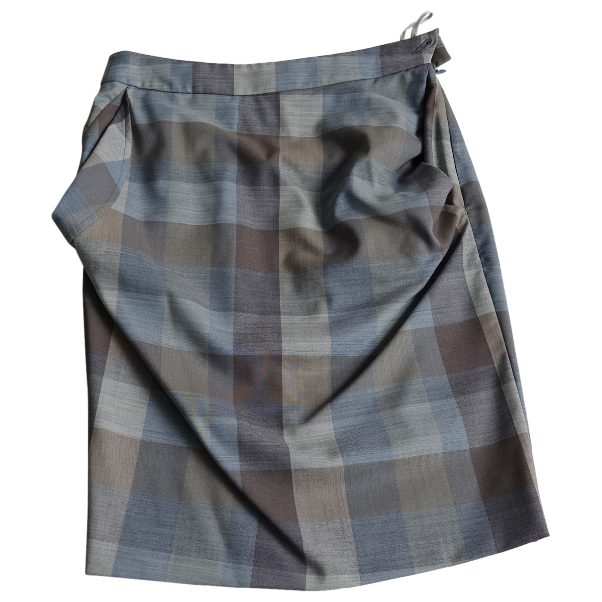 Vivienne Westwood \N Blue Wool skirt for Women 38 IT