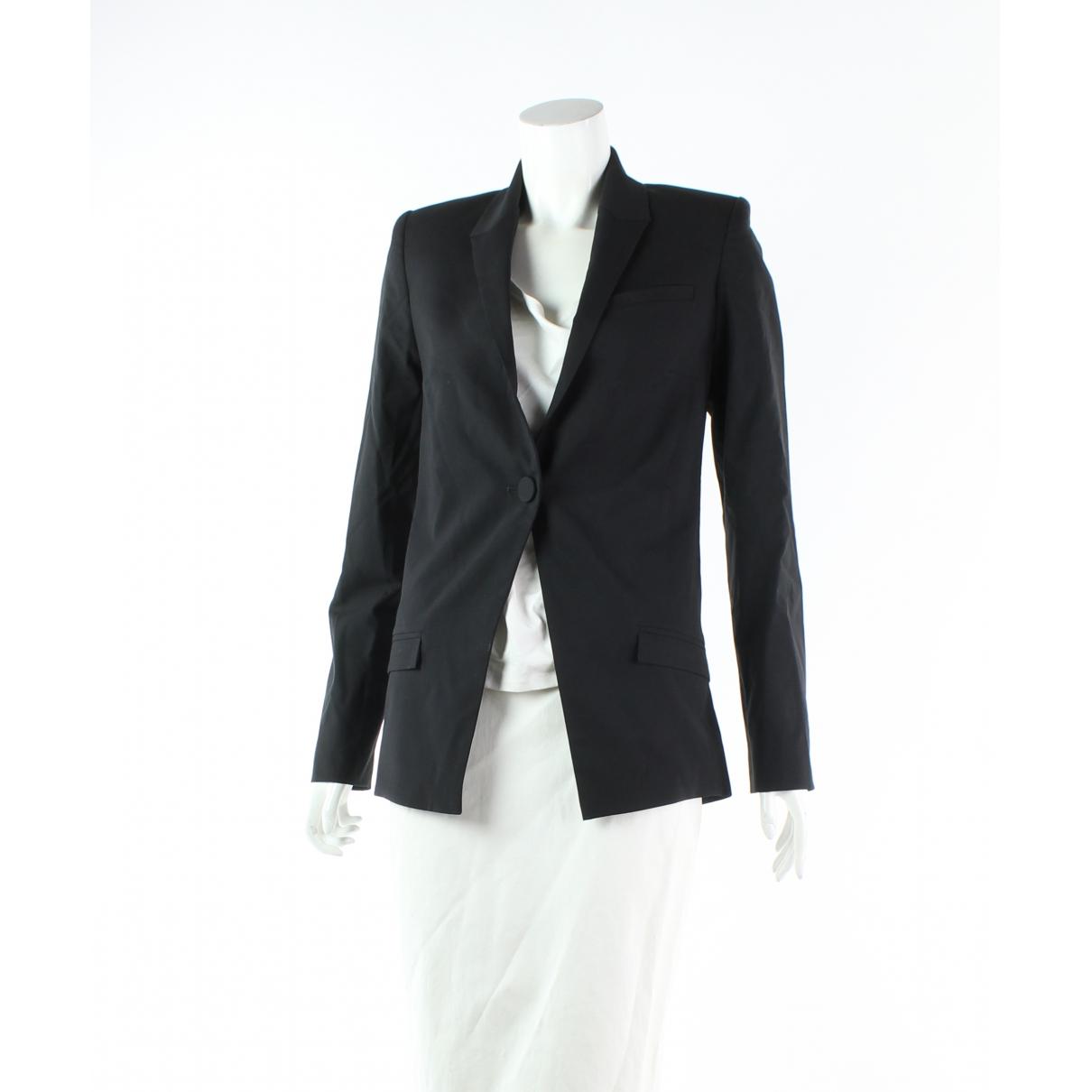Dion Lee - Veste   pour femme en laine - noir