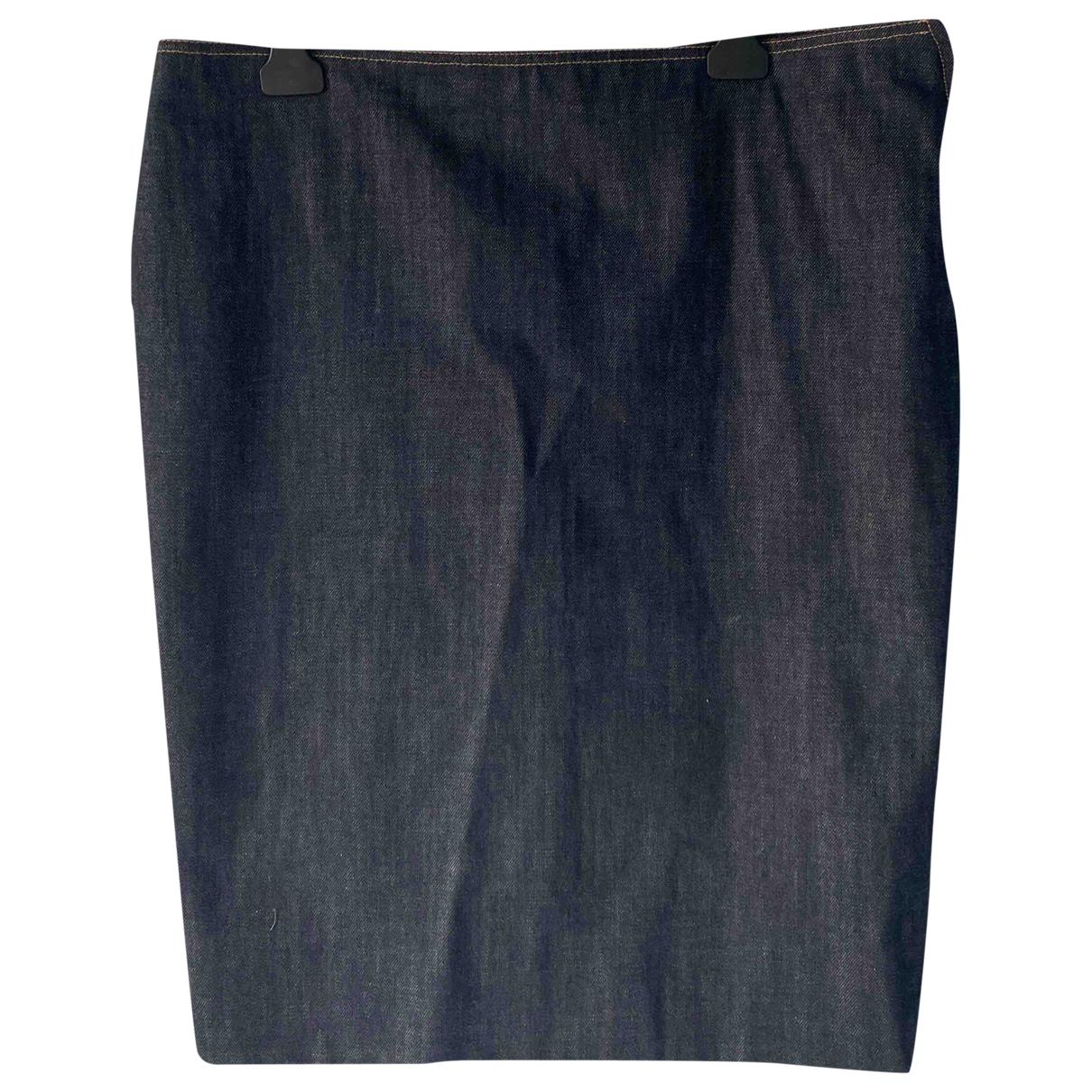 Miu Miu \N Rocke in  Marine Denim - Jeans