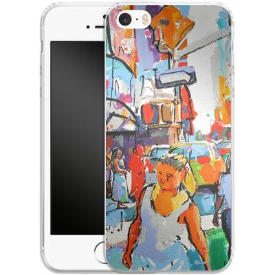 Apple iPhone 5 Silikon Handyhuelle - My Favorite Corner von Tom Christopher