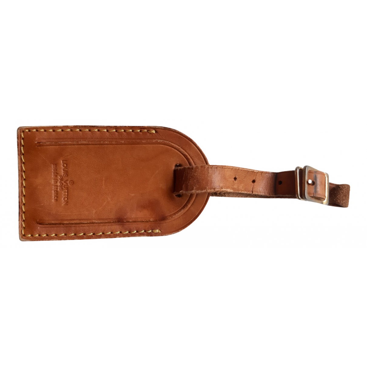 Louis Vuitton N Brown Leather Bag charms for Women N