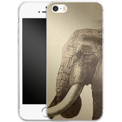 Apple iPhone 5s Silikon Handyhuelle - Old Friend von Eric Fan