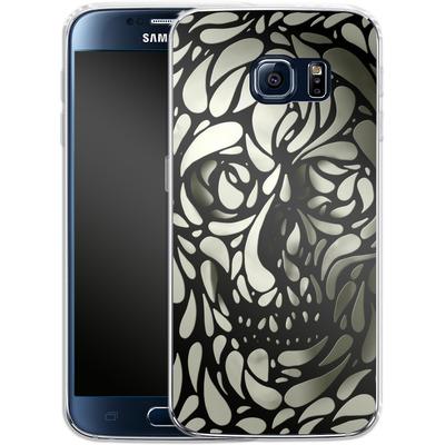 Samsung Galaxy S6 Silikon Handyhuelle - Skull von Ali Gulec