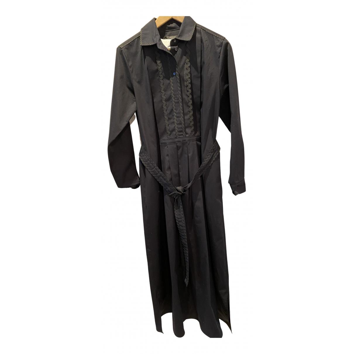 Max Mara Weekend \N Kleid in  Schwarz Baumwolle