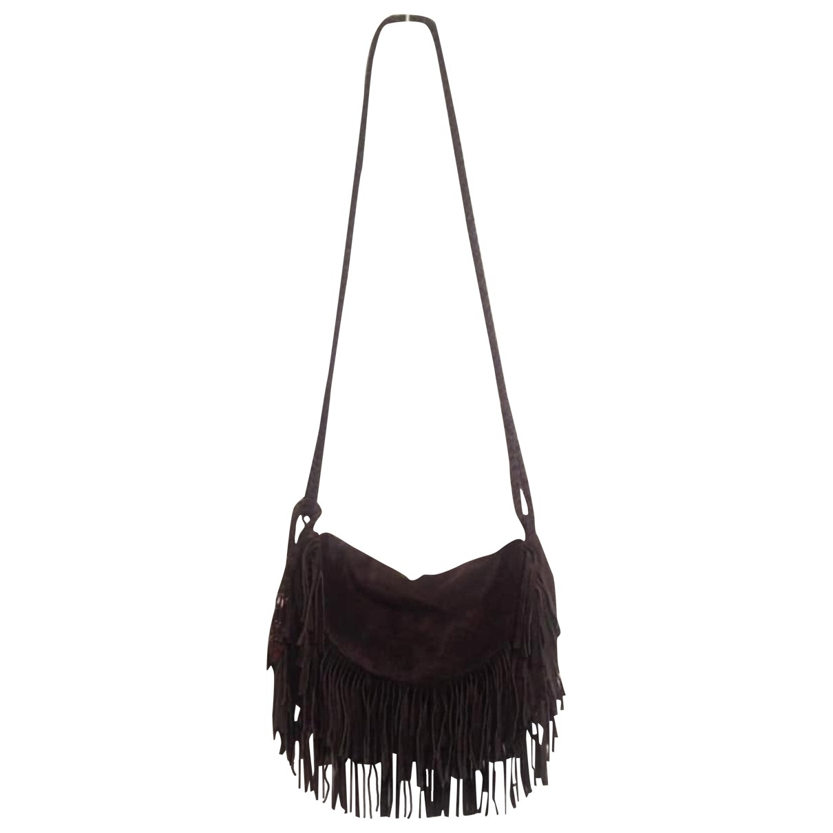 Antik Batik \N Brown Suede handbag for Women \N