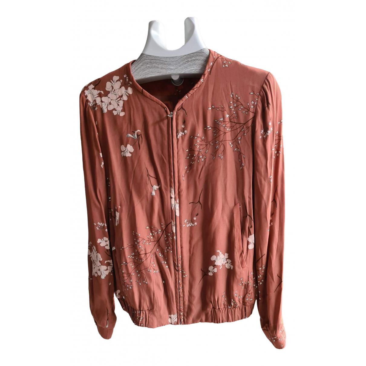 Massimo Dutti N Brown Cotton jacket for Women S International
