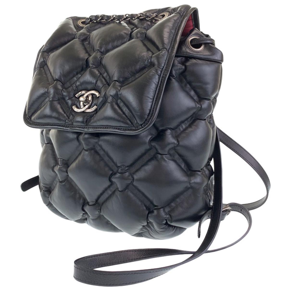 Chanel - Sac a dos   pour femme en cuir