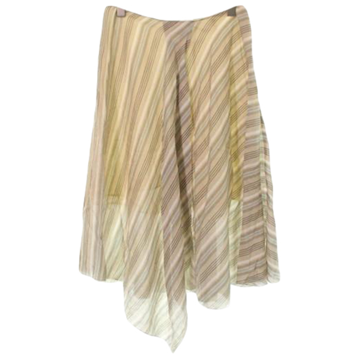 Acne Studios \N Beige Cotton skirt for Women 34 FR