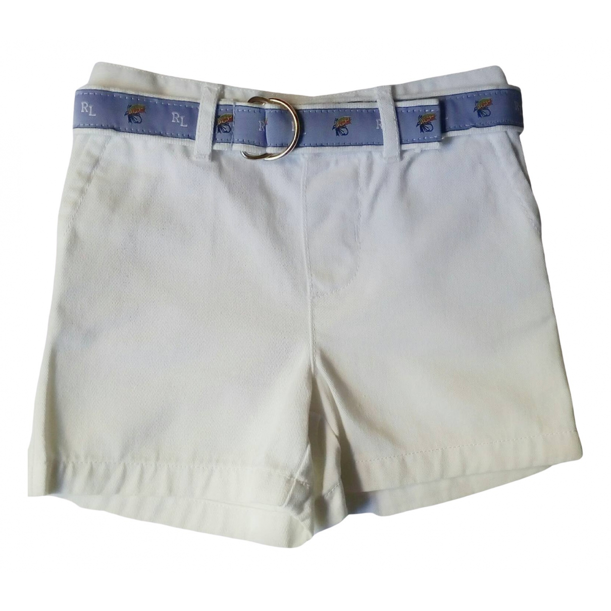 Ralph Lauren \N White Cotton Shorts for Kids 9 months - until 28 inches UK