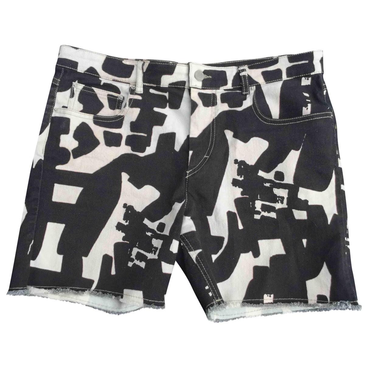Isabel Marant \N Black Cotton - elasthane Shorts for Women 40 FR