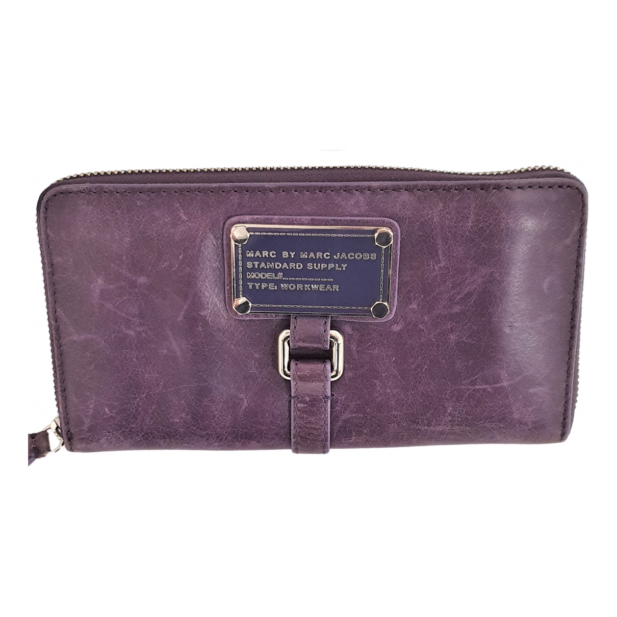 Marc By Marc Jacobs \N Purple Leather wallet for Women \N