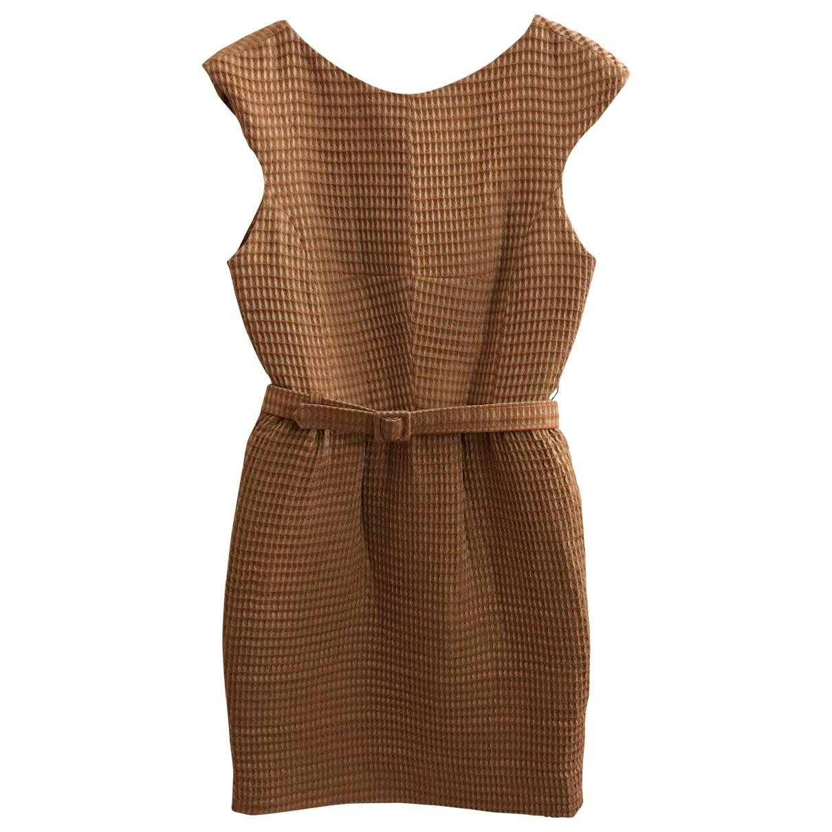 Jonathan Saunders \N Kleid in  Orange Synthetik