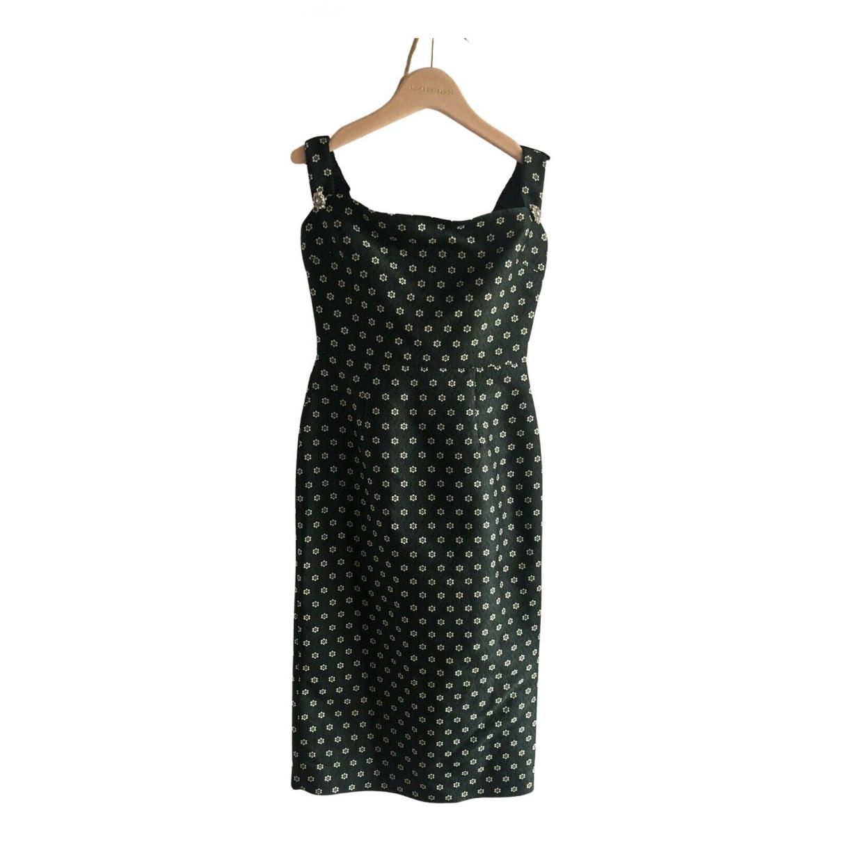 Alexa Chung \N Kleid in  Gruen Polyester