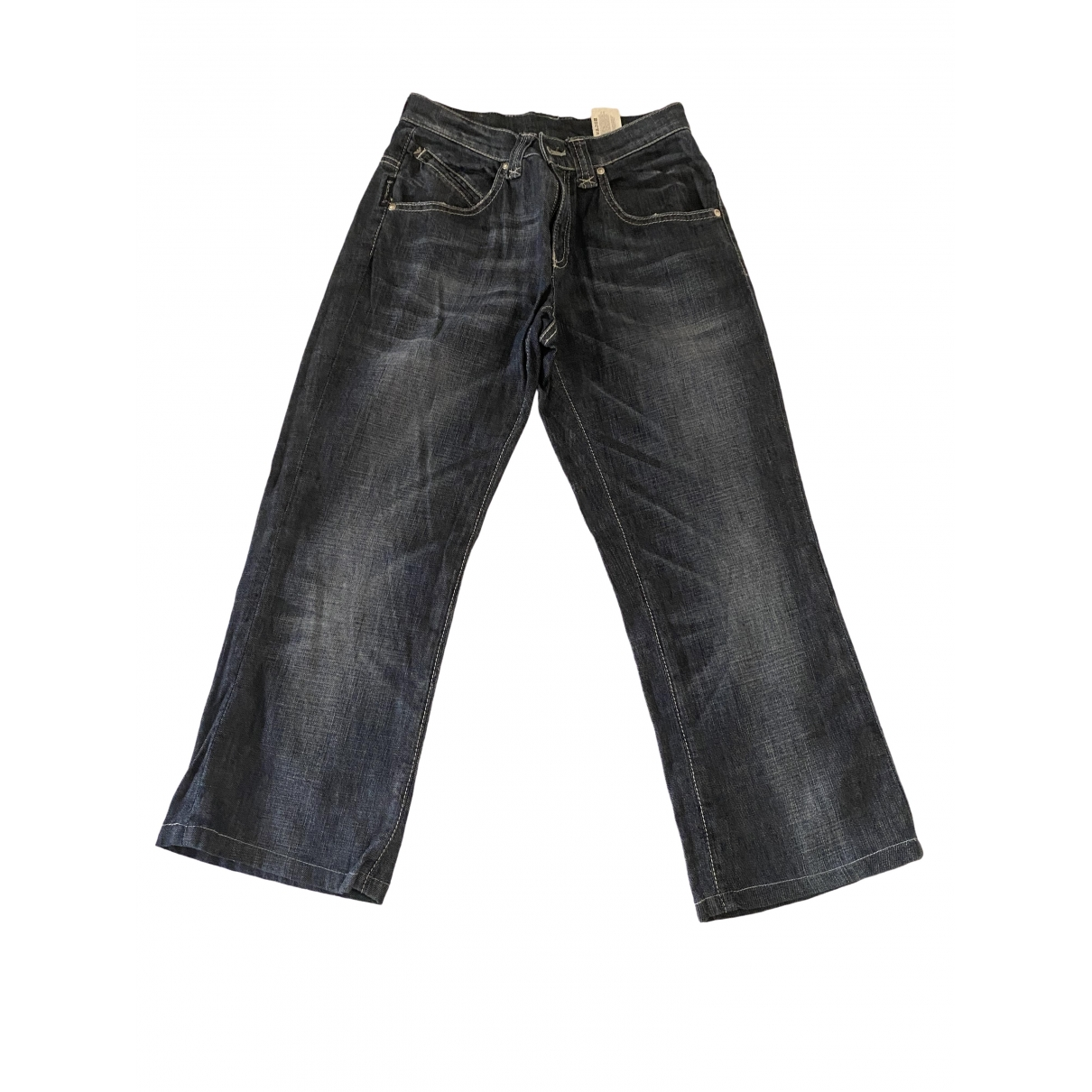 Armani Jeans \N Blue Denim - Jeans Trousers for Women S International