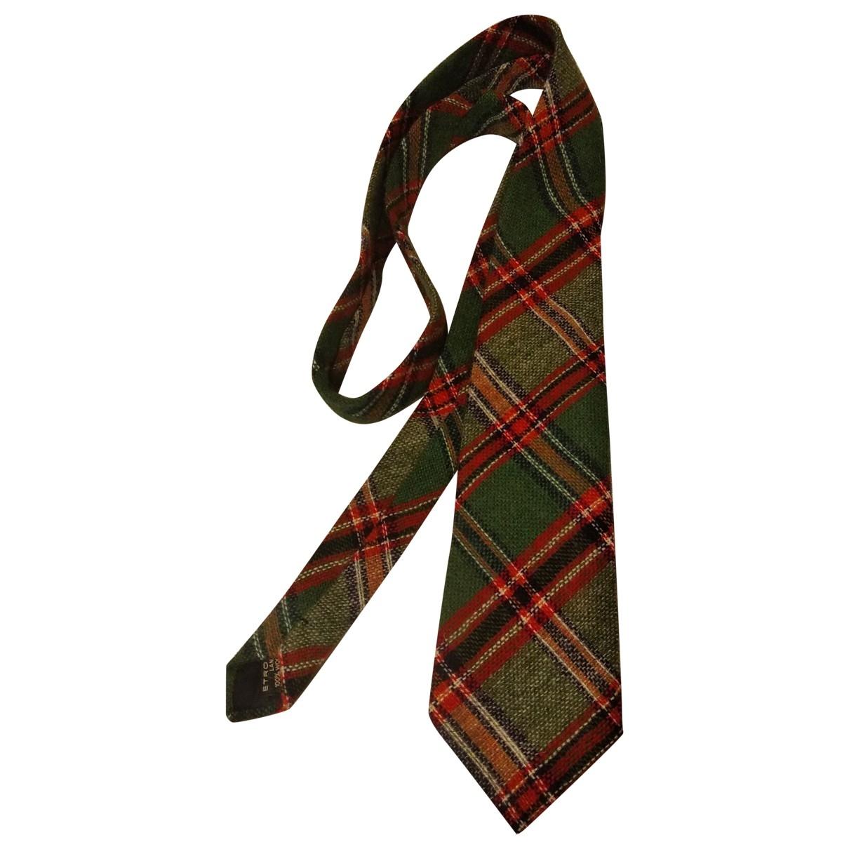 Etro \N Krawatten in  Bunt Wolle
