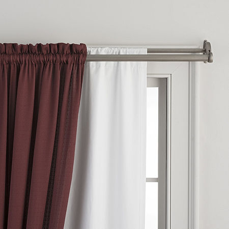 Home Expressions Rod-Pocket Curtain Liner, One Size , White