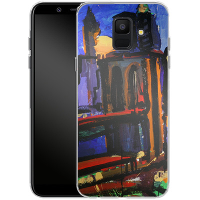 Samsung Galaxy A6 Silikon Handyhuelle - Alive At Night von Tom Christopher