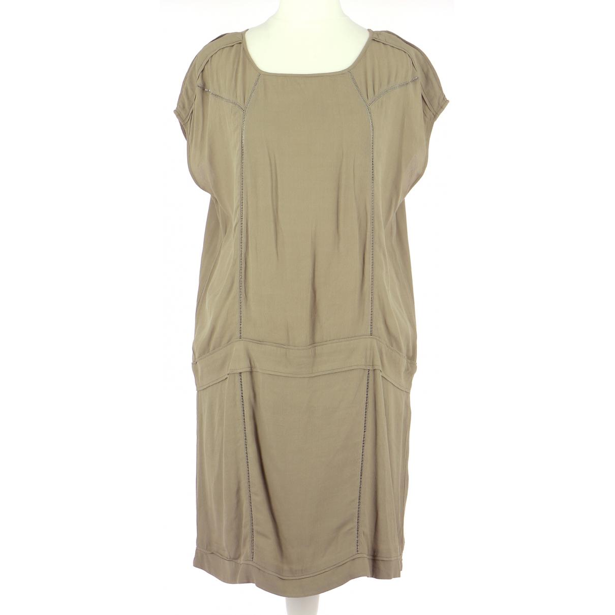 Comptoir Des Cotonniers \N Kleid in  Gruen Viskose