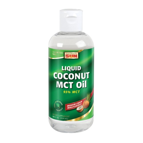 Liquid Coconut MCT Oil 12 oz by Health From The Sun