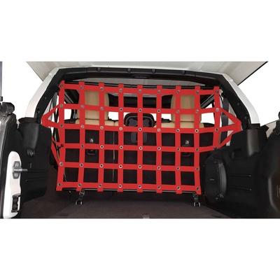 DirtyDog 4x4 Pet Divider - Rear (Red) - JL4PD18RRD