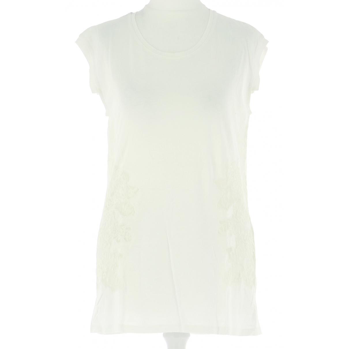 Autre Marque N Ecru Cotton  top for Women 36 FR
