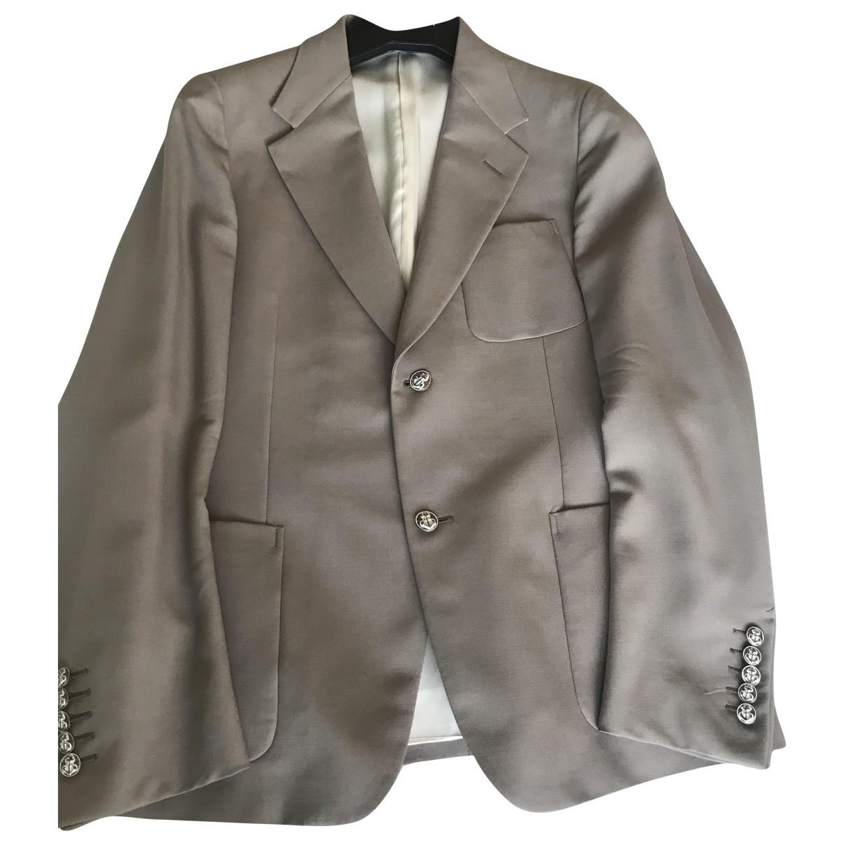 Gucci - Vestes.Blousons   pour homme en laine - beige