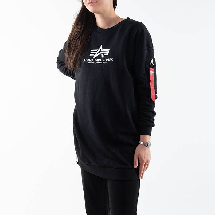Alpha Industries Basic Long Sweater Os Wmn 128053 03