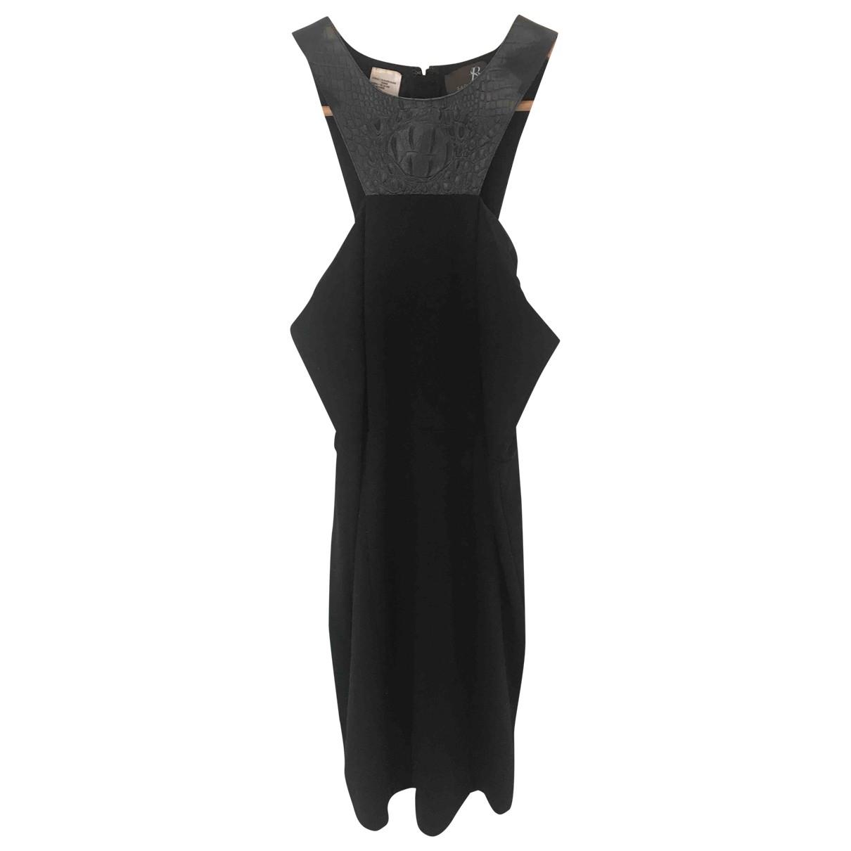 Sachin + Babi \N Kleid in  Schwarz Polyester